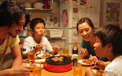 Joe Odagiri, Koki Maeda, Nene Ohtsuka, Ohshiro Maeda in I Wish, a Magnolia Pictures release