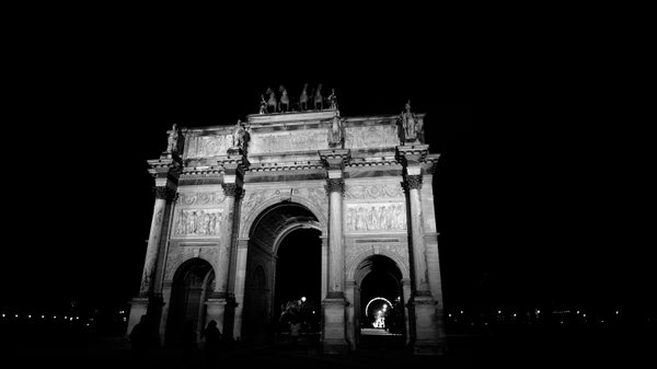 Arc de Triomphe du Carrousel in Paris, France thumbnail