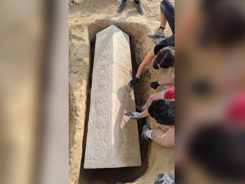 Well-Preserved Visigoth Sarcophagus Found at Roman Villa in Spain