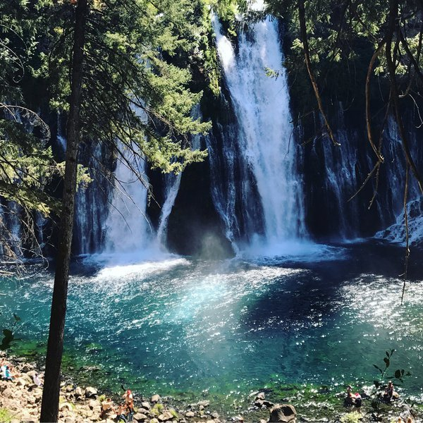 Ghost at Burney Falls state park, CA thumbnail