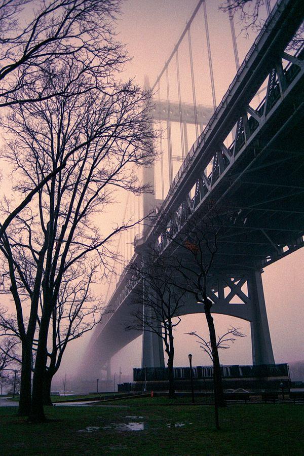 Whitestone Bridge in the Fog thumbnail