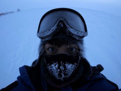 Danish physician Nadja Albertsen spent a year at Concordia Research Station in Antarctica.