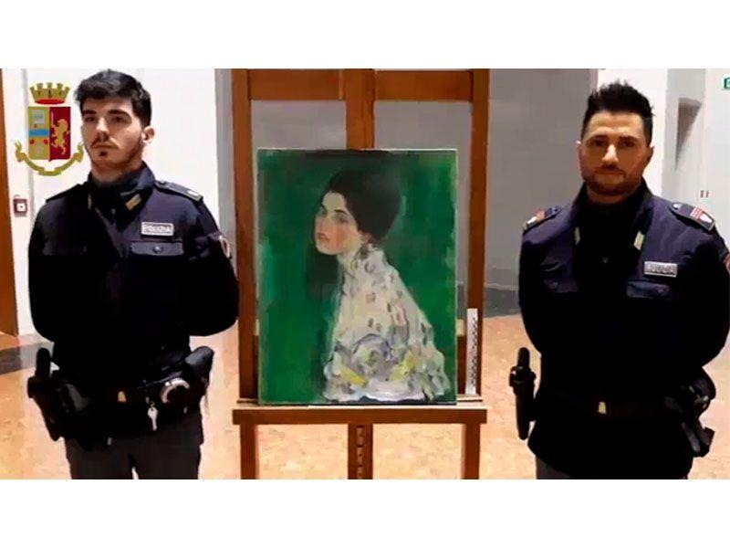 Gustav Klimt stolen painting found
