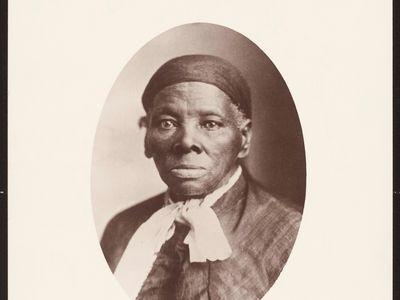 Print of Harriet Tubman