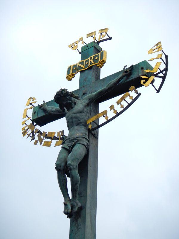Crucifix on Charles Bridge thumbnail