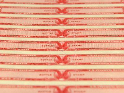 "United States Internal Revenue Service ""bottle stamp"""