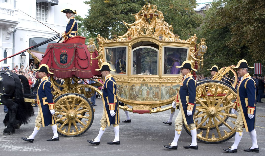 Why Is the Dutch Royal Family's Golden Carriage So Controversial?