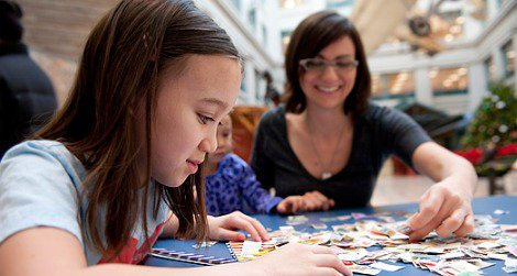 Come make your own stamp collection at a drop-in workshop at the Postal Museum.