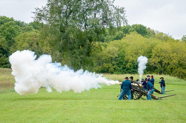 Artillery Demonstration at Wilson's Creek National Battlefield thumbnail