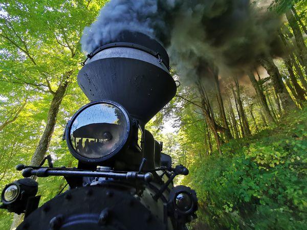 Cass Scenic Railroad Shay Geared Steam Locomotive   thumbnail