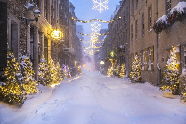 Winter Snow Storm & Old Quebec thumbnail