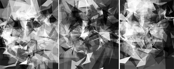 Faces created using Phil McCarthy's Pareidoloop.