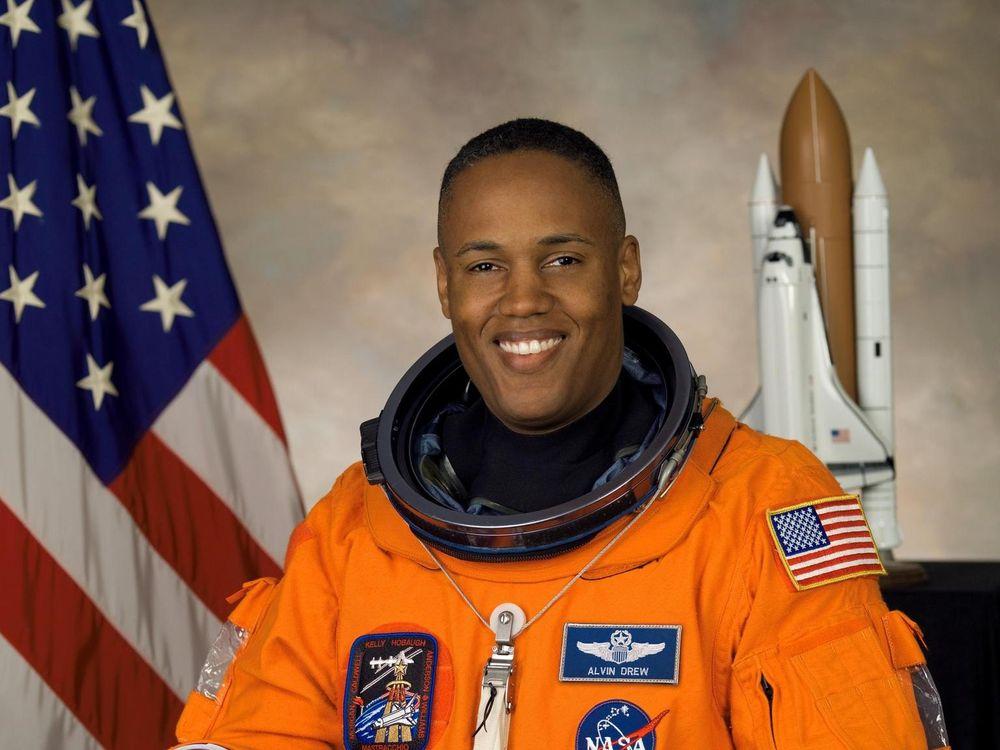 NASA astronaut Alvin Drew, mission specialist. Credit: NASA Johnson Space Center