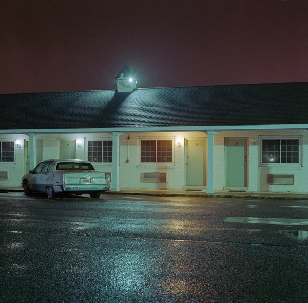 Stopping for the night at the Track and Turf Motel, in New Jersey thumbnail