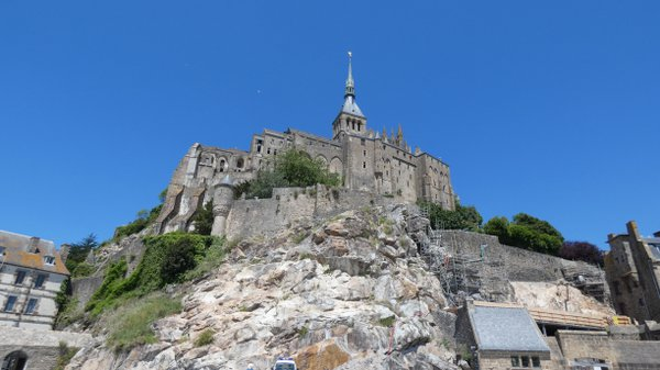 Mont San Michel from the village thumbnail