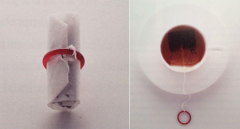 Naoto Fukasawa's simple teabag redesign (image: Designing Design)