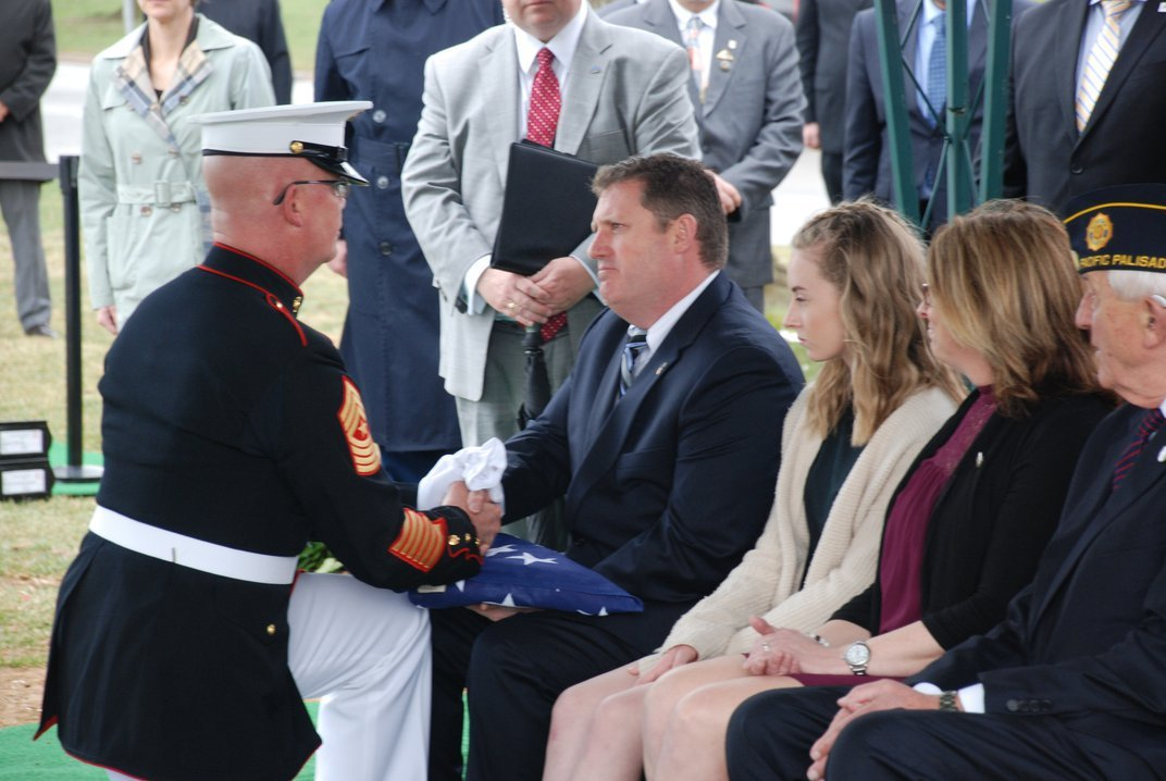WWII Marine Buried at Arlington, 73 Years After His Death