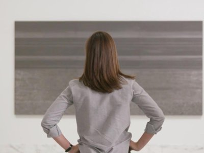 """""""Re:Frame,"""" a video web series produced by the Smithsonian American Art Museum, investigates the compelling role graphite has played in the history of art—and in Teresita Fernández's work."""