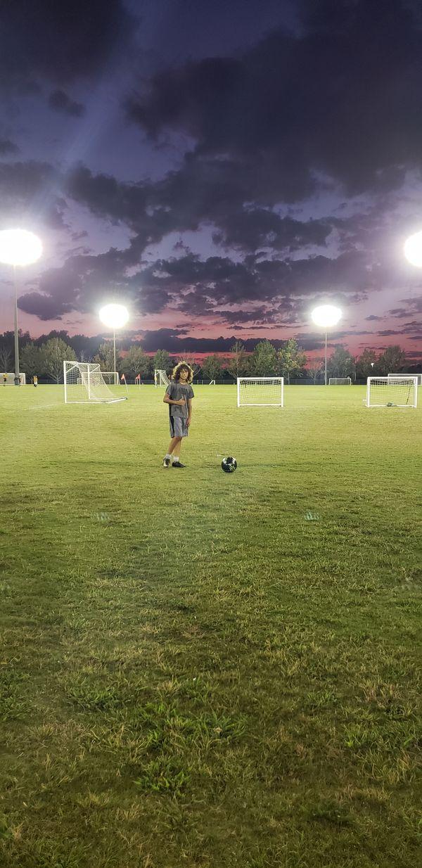 Soccer training thumbnail