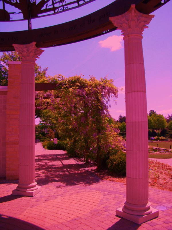 Pillars in Sunken Gardens thumbnail