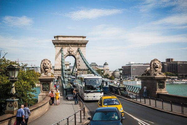 Szechenyi Chain Bridge of Budapest thumbnail