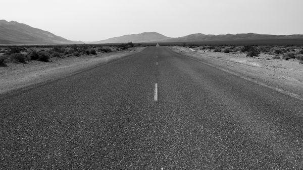 Open roads on the 127, California thumbnail