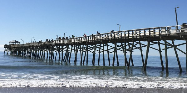 Fishing off Oceanana Pier in Atlantic Beach thumbnail