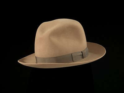 """Harry Rossoll, who drew a popular """"Smokey Says"""" newspaper cartoon in the mid-1940s, modeled his sketches after the campaign hat he wore as a member of the United States Forest Service."""