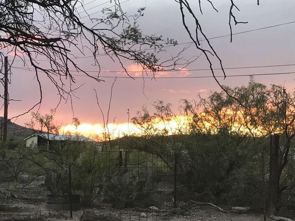 Sunset looks like fire. thumbnail