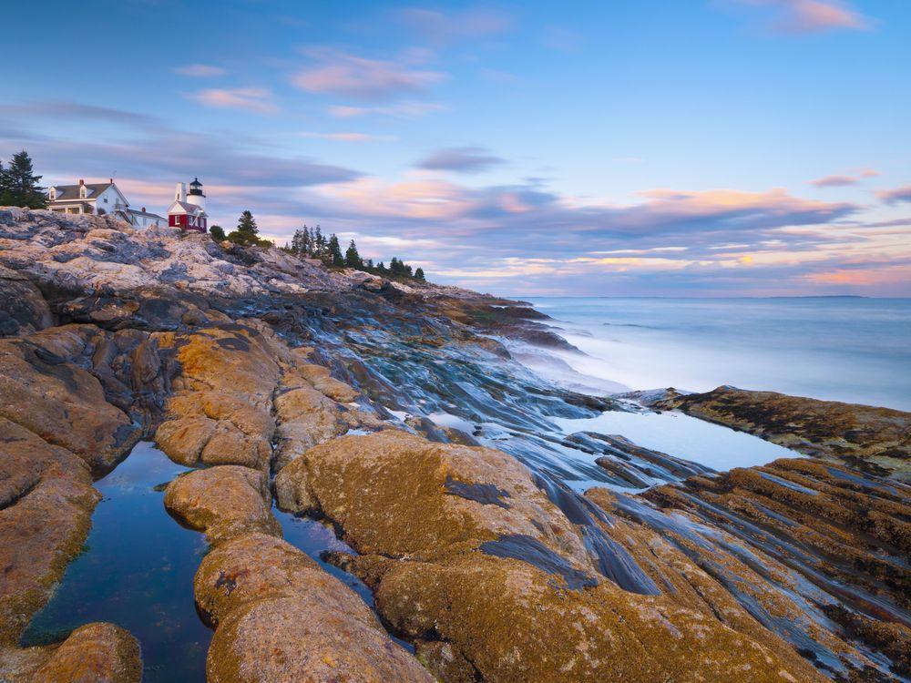 Pemaquid Point Lighthouse, Pemaquid Peninsula, Maine