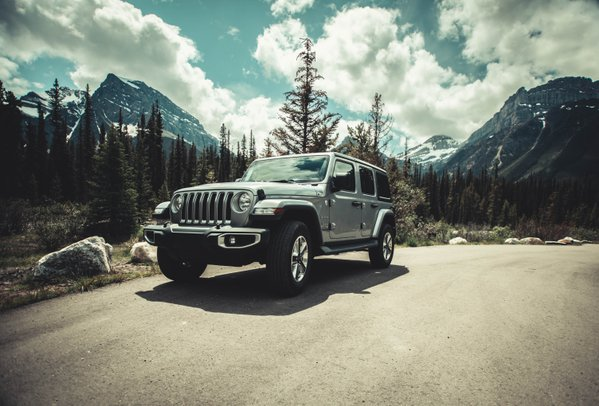 Wrangler in the Canadian Rockies thumbnail