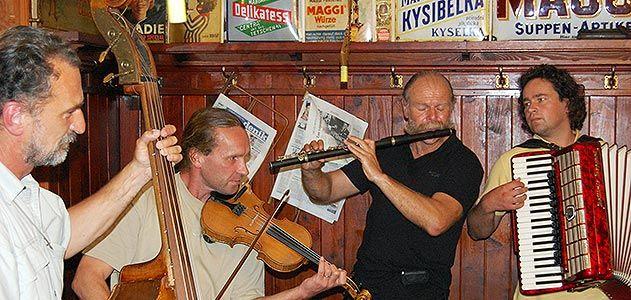 Trebon Czech musicians