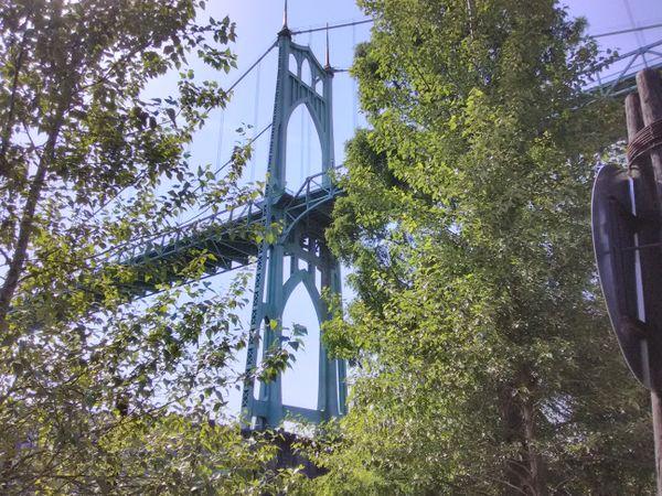A Snippet of the St. Johns Bridge thumbnail
