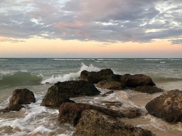 Sunset at Rose Hall Beach, Montego Bay, Jamaica thumbnail