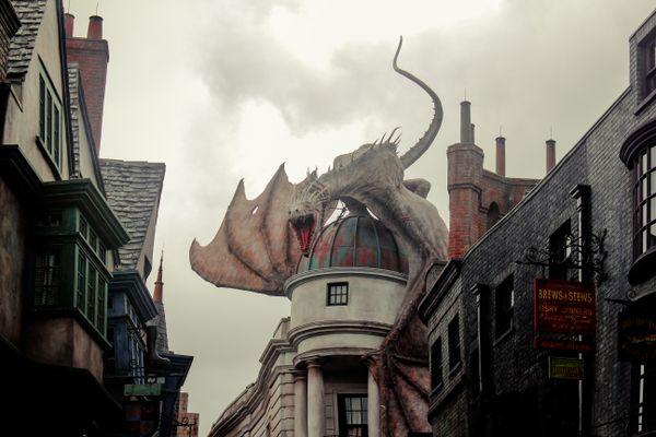 Mother in low visit us :) (Dragon at Universal Studios) thumbnail
