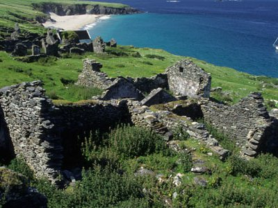 This rugged group of six islands off the tip of Dingle Peninsula seems particularly close to the soul of Ireland.