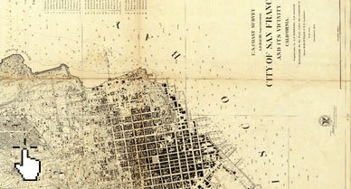Photo courtesy of the David Rumsey Map Collection; Interactive by Esri; Text by Natasha Geiling.
