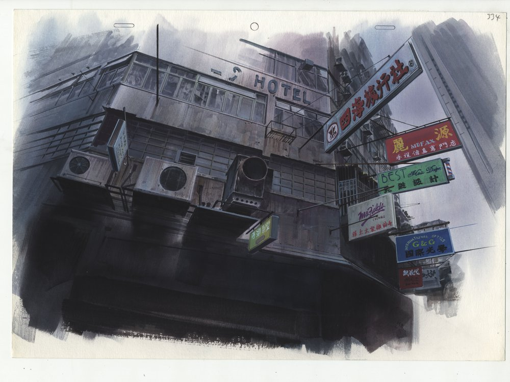 Ghost in the Shell Background 1