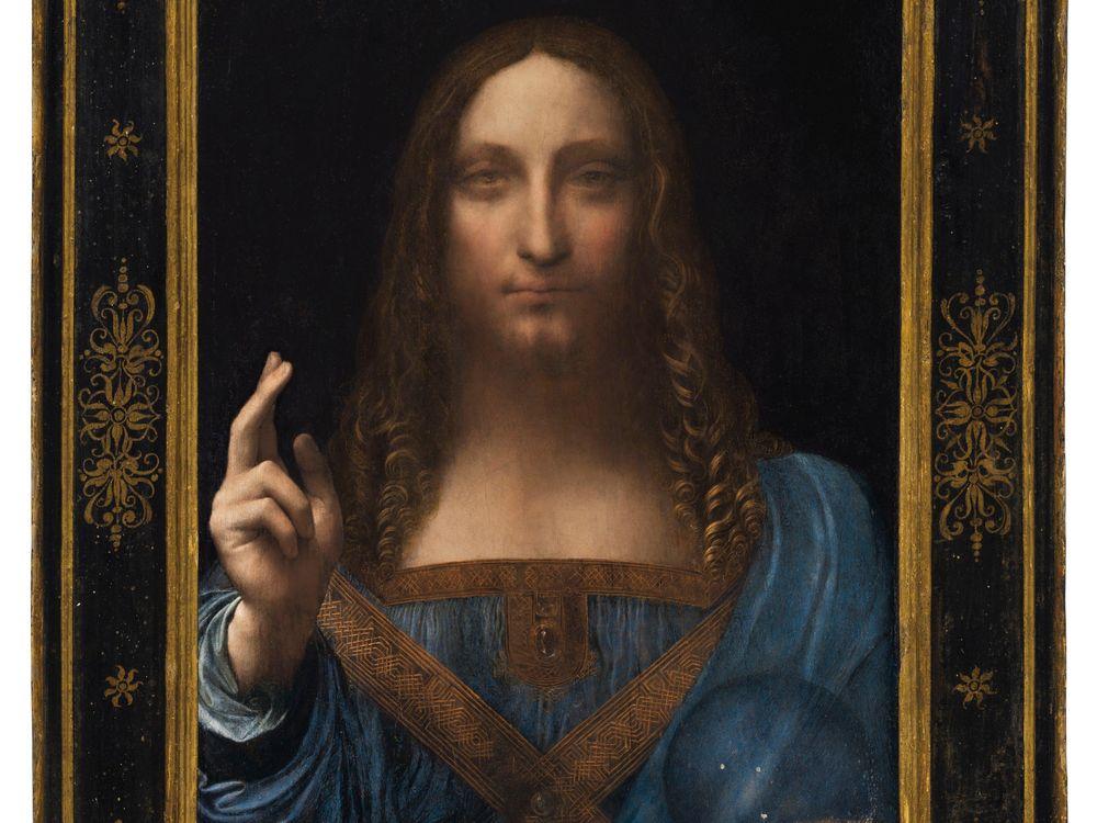 Lot 9B - Da Vinci, Salvator Mundi (framed).jpg