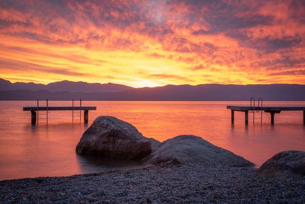 Rocks, Docks and Sunrise thumbnail