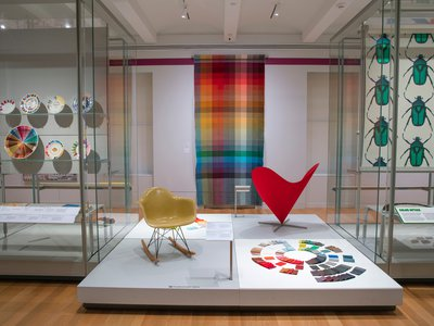 Saturated invites visitors to contemplate the essence of color, and the fascinating ways in which different hues interact.