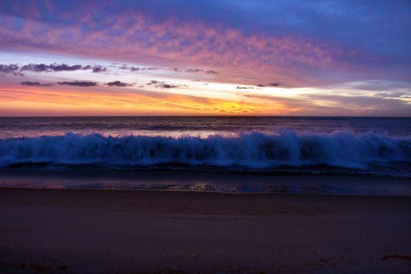 Sunrise over the Atlantic thumbnail