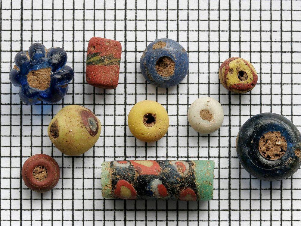 Anglo Saxon Beads