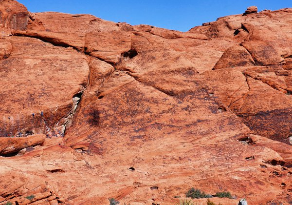 Climbing Red Rock Canyon thumbnail