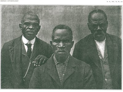 L to R: Ward Lee, Tucker Henderson and Romeo were three of the nearly 500 captives illegally transported on the Wanderer.