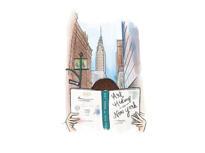 Art Hiding in New York is a new book by Lori Zimmer featuring 100 pieces of artwork hidden around New York City.