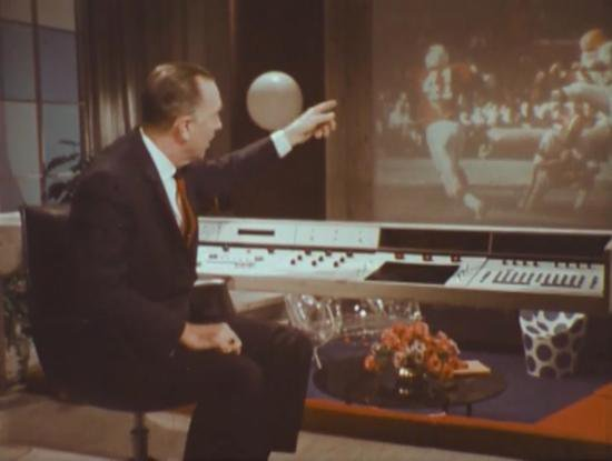 3D-TV, Automated Cooking and Robot Housemaids: Walter Cronkite Tours the Home of 2001