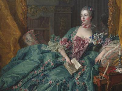 Madame Pompadour, by Francois Boucher