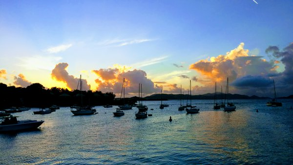 January Sunset in the United States Virgin Islands thumbnail
