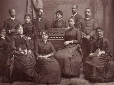 Featured in the museum's first temporary exhibition, the Fisk Jubilee Singers introduced spirituals to audiences around the world.